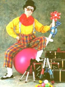 Rene Bosman; Clown, Mime, Juggling, Balloons
